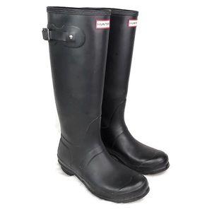 Hunter Boots Womens Original Tall Rain Boots black